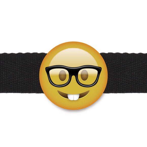 Emogag Nerd Emoji Ball Gag - Adult sex toys direct