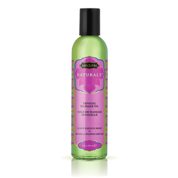 Kama Sutra Naturals Massage Oil Island Passion Berry - Adult sex toys direct