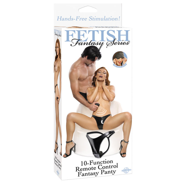 Fetish Fantasy Series 10 Function Remote Control Fantasy Panty - Adult sex toys direct