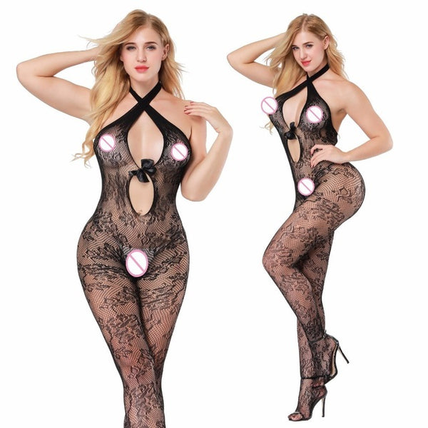 Women Sexy Lingerie Plus Size Hot Erotic Underwear Babydoll Fishnet Sleepwear exy Costumes Lenceria Erotica Mujer Sexi  qq351 - Adult sex toys direct