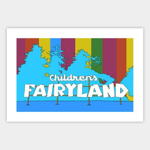 Oakland Children's Fairyland Print
