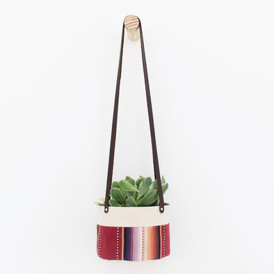 "6"" Canvas Planter Hanging"