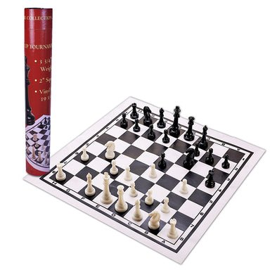 Chess Set - Roll Up Tournament - Oakland Museum of California Store