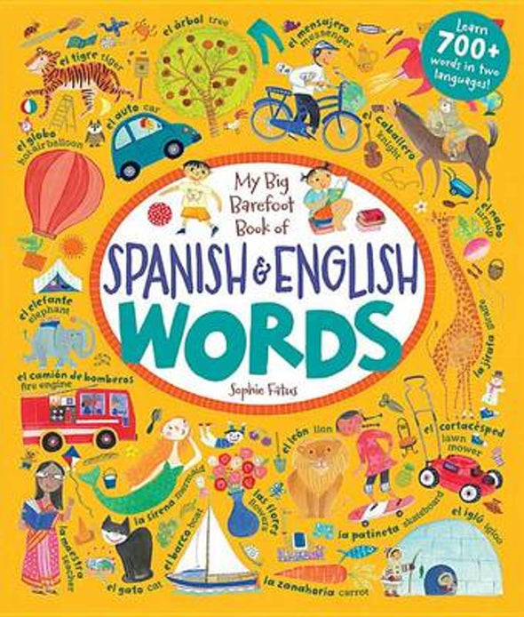 Book of Spanish & English Words