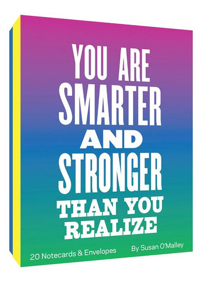 You Are Smarter and Stronger... Boxed Notecards