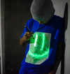 Glow in the  Dark Interactive T-Shirt - Kids