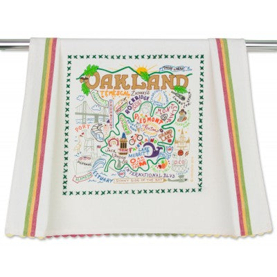 Oakland Dish Towel - Oakland Museum of California Store