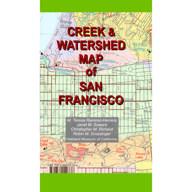 Creek & Watershed Map of San Francisco