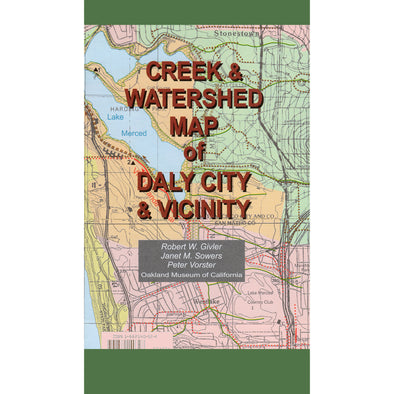 Creek & Watershed Map of Daly City & Vicinity