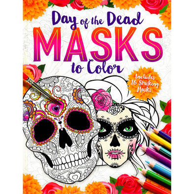 Day of the Dead Masks to Color