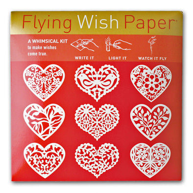 SCARLET HEARTS Flying Wish Paper Mini Kit