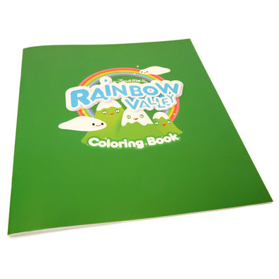 Rainbow Valley Coloring Book