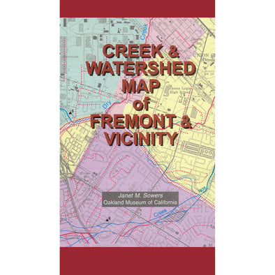 Creek & Watershed Map of Fremont & Vicinity