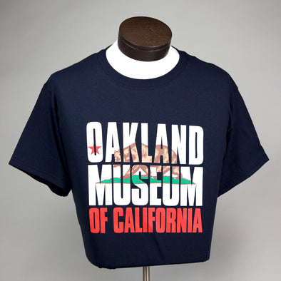 OMCA State Flag Tee - Oakland Museum of California Store