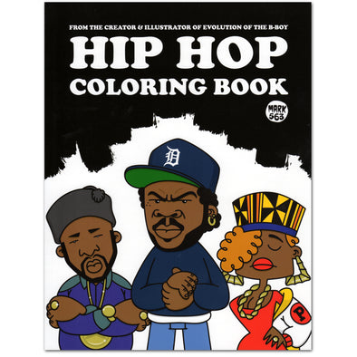 Hip Hop Coloring Book - Oakland Museum of California Store