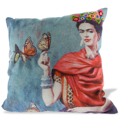 Frida Kahlo Pillow - Oakland Museum of California Store