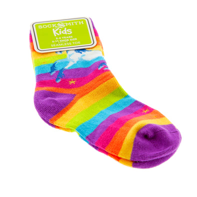 Rainbow/Magical Unicorn Kids Sock