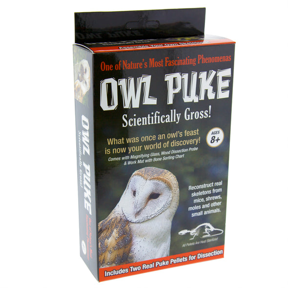 Owl Puke - Oakland Museum of California Store