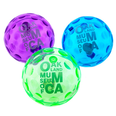 OMCA Light-Up Bounce Balls - Oakland Museum of California Store