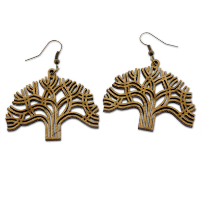 Oakland Tree Earrings - Oakland Museum of California Store