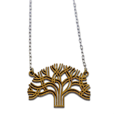 Oakland Tree Necklace - Oakland Museum of California Store