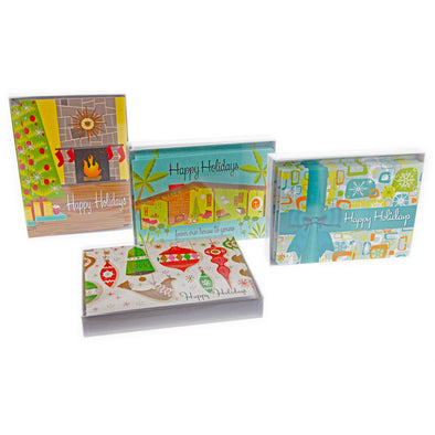 Retro Modern Boxed Holiday Cards - Oakland Museum of California Store