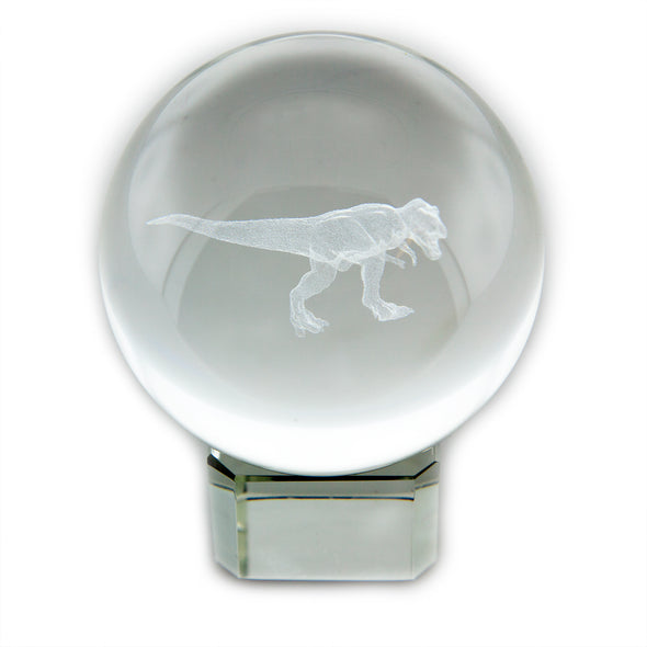 T-Rex Crystal Sphere - Oakland Museum of California Store