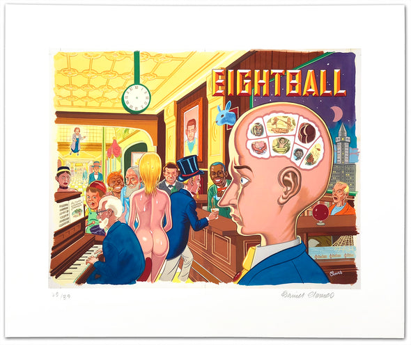 Eightball 17 Print by Daniel Clowes
