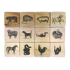 Chinese Zodiac Wood Blocks - Oakland Museum of California Store