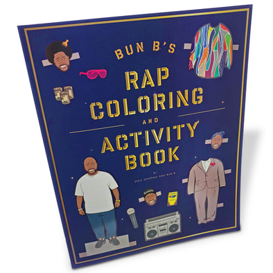 Bun B's Rap Coloring and Activity Book - Oakland Museum of California Store