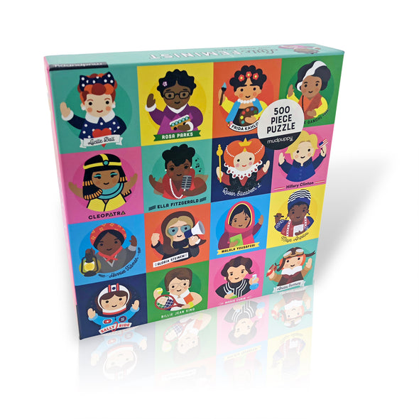 Little Feminist 500 Piece Family Puzzle - Oakland Museum of California Store