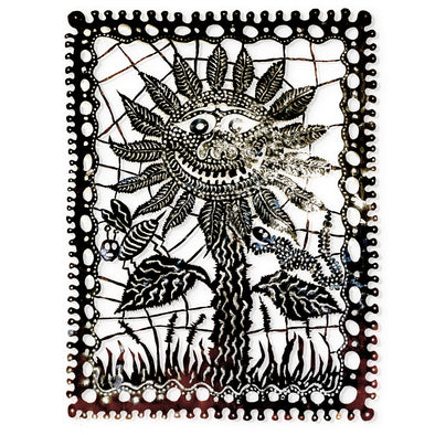 Bulwinkle Tin Cut Out - Sunflower - Oakland Museum of California Store