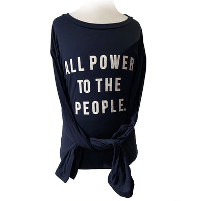 All Power to the People Long Sleeve Tee