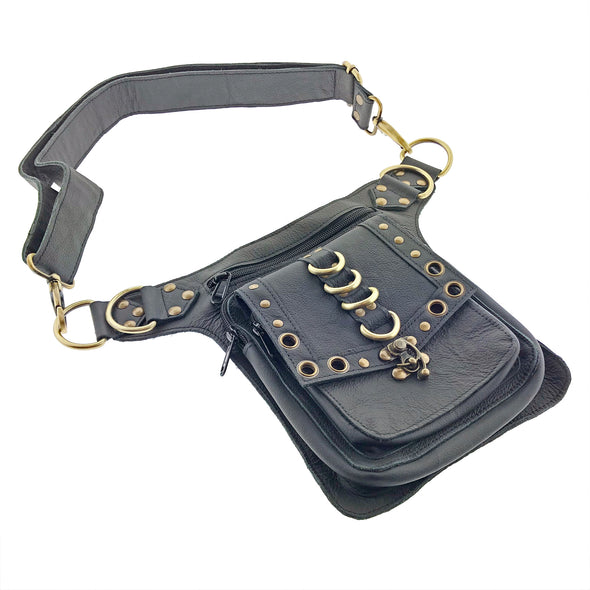 Festival Leather Fanny Pack