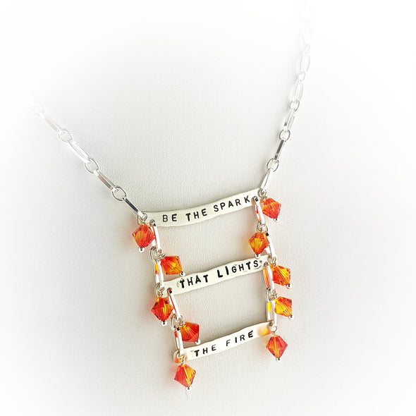 Be The Spark That Lights the Fire Necklace