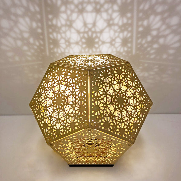 HYBYCOZO Gold 'Trillian' Table Light