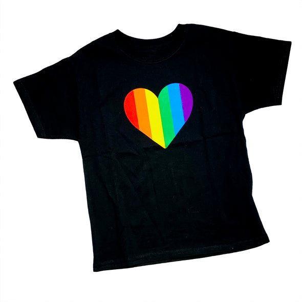 Youth Rainbow Heart Tee