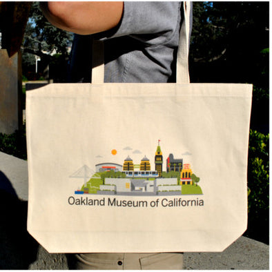 Exclusive OMCA Oakland Canvas Tote - Oakland Museum of California Store