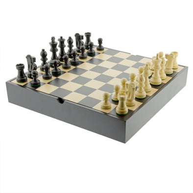 French Black Chess Set - Oakland Museum of California Store