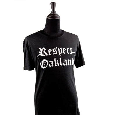 Respect Oakland Crew Neck Tee - Oakland Museum of California Store