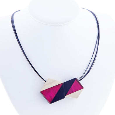 Origami Necklace - Oakland Museum of California Store