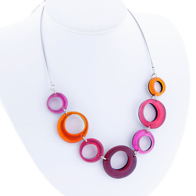 Hollow Circles Necklace - Oakland Museum of California Store