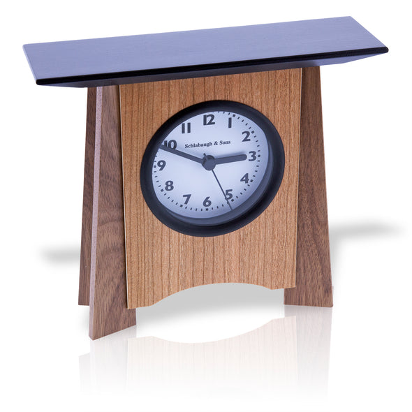 Contemporary Veneer Shelf Clock - Oakland Museum of California Store