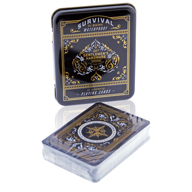 Survival Playing Cards Tin - Oakland Museum of California Store
