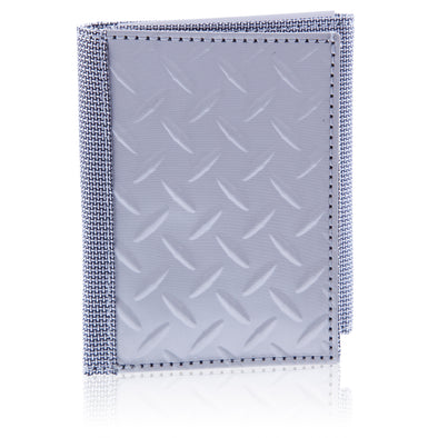 Wallet Tri-Fold Diamond Plate - Oakland Museum of California Store