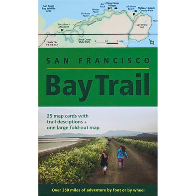 San Francisco Bay Trail Map Deck - Revised Edition