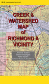 Creek & Watershed Map of Richmond & Vicinity - Oakland Museum of California Store
