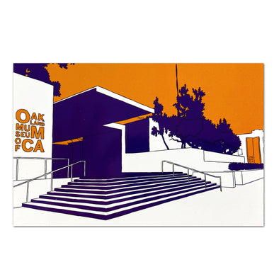 Oakland Post Card Set - Local Artist My Town