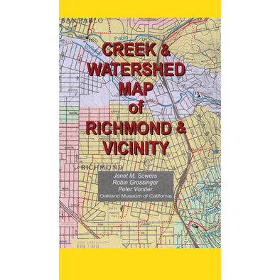 Creek & Watershed Map of Richmond & Vicinity