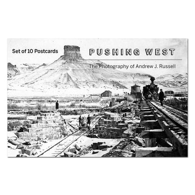 Pushing West Postcards